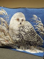 Marilyn Bujalski, the other featured quilter for the