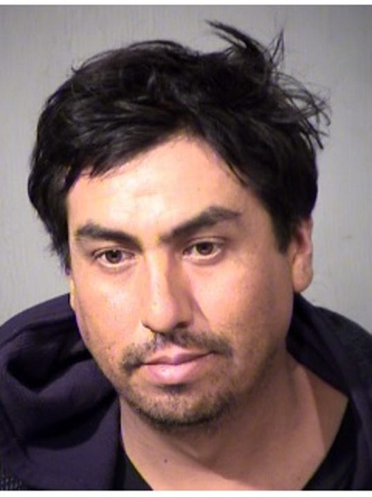 Glendale bus stop flasher, identified and arrested as Ezequiel Gardea Diaz, 34.