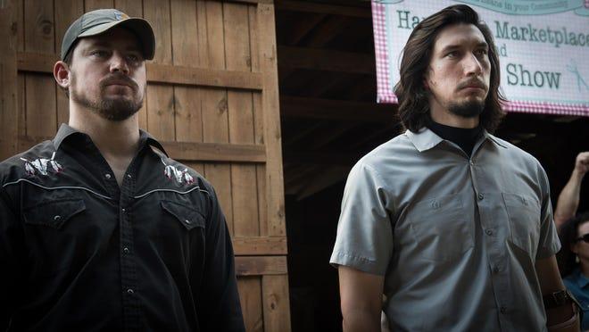 Channing Tatum and Adam Driver in 'Logan Lucky'(loganluckymovie.com)