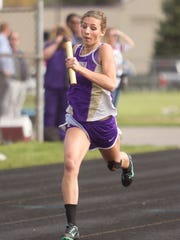 Fowlerville's Kyla Chappell finished seventh in the 400 in the state Division 2 meet last year.
