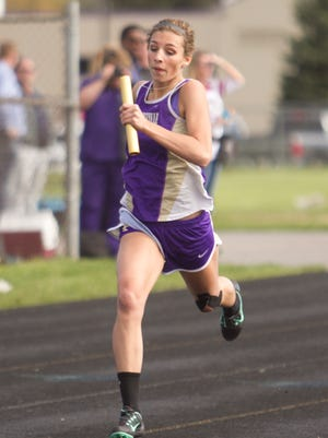 Fowlerville's Kyla Chappell qualified for the state track and field meet in the 400 meters for the second straight year.