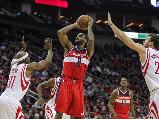 NBA: Washington Wizards at Houston Rockets