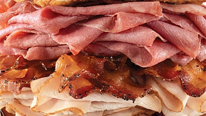 Arby's new Meat Mountain available to customers in the know for $10.