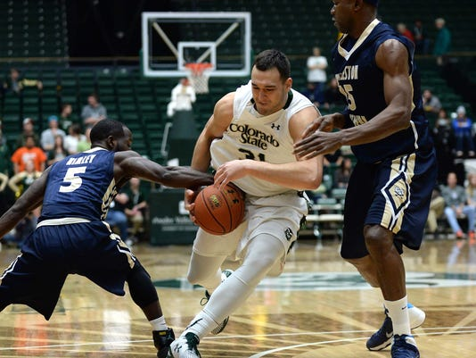 NCAA Basketball: Charleston Southern at Colorado State