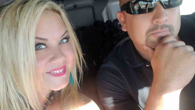 Heather and Albert Alvarado. Heather was killed in the Las Vegas shooting.