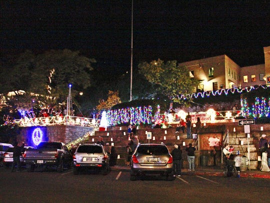 Jerome kicks off the holiday season with Jerome Lights Up the Mountain in late November.