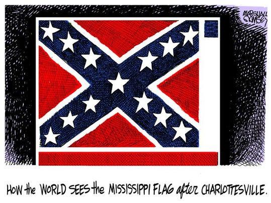 081617 Wednesday Flag