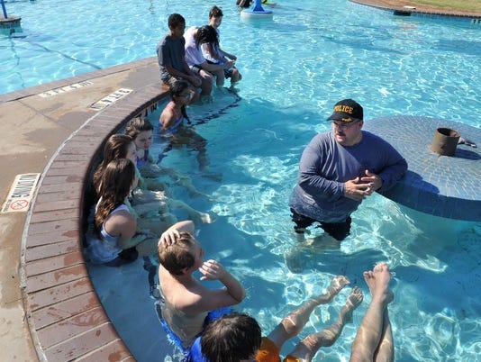 WFPD: Junior Police Academy Scuba Lessons