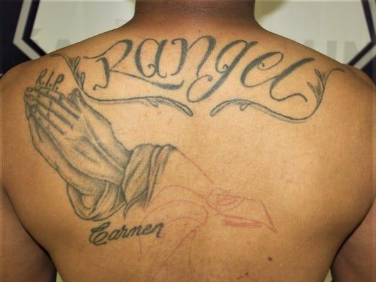 Bruno Angel Rangel is accused of ordering several gang murders in Juárez.