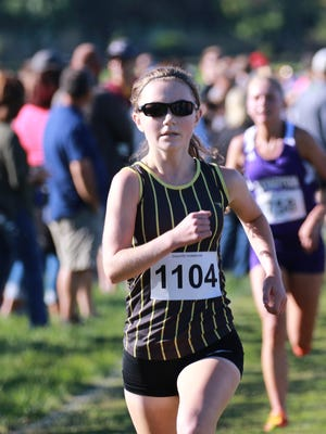 Watkins sophomore, Andrea Kuhn, finished in second place with a time of 18:54 at the Granville Cross Country Invitational.