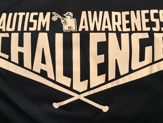Autism Awareness Baseball Challenge logo