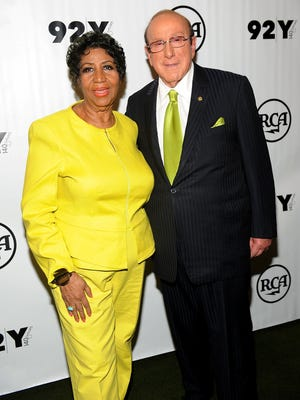 "Aretha Franklin's new album, ""Aretha Franklin Sings the Diva Classics,"" was executive-produced by Clive Davis, right."