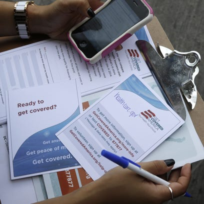 The federal health insurance marketplace opens for