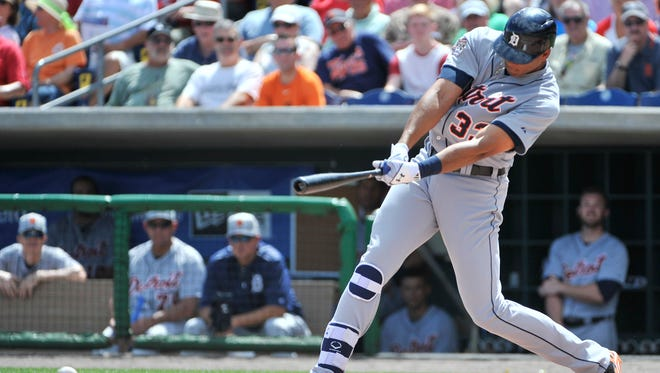Tigers' Steven Moya is hitting .154 this spring.