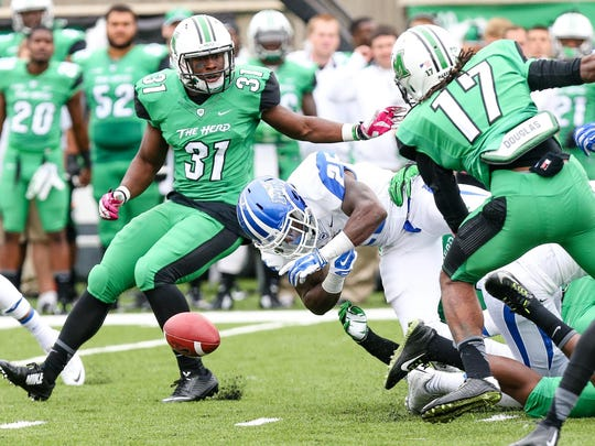 MTSU finished minus-4 in turnover margin to rank 11th in Conference USA and 92nd in the country in 2014.