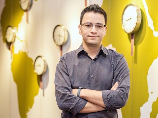 German Cadenas is pursuing his doctorate in psychology