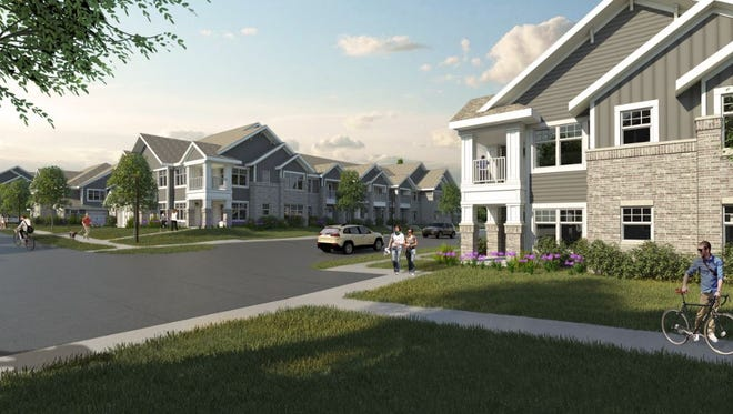 Construction is starting on the first phase of Drexel Ridge apartments in Oak Creek.