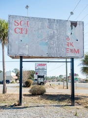 The former Souvenir City and Shark Museum on in Navarre