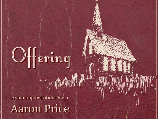 """""""Offering: Hymn Improvisations Vol. 1"""" is the new CD"""