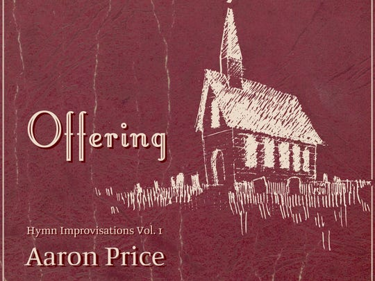 """Offering: Hymn Improvisations Vol. 1"" is the new CD"