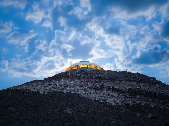 Volcano House in Newberry Springs.