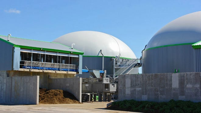 The University of Wisconsin-Oshkosh Foundation is looking to sell its Rosendale Biodigester to pay off creditors as part of its Chapter 11 bankruptcy.