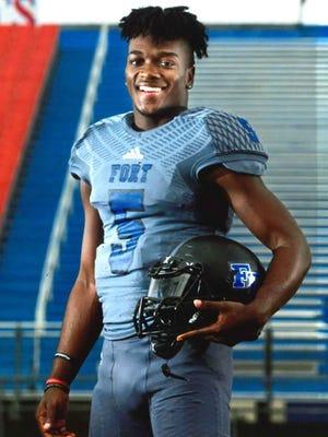 Fort Dorchester senior quarterback Dakereon Joyner, a University of South Carolina recruit, is one of five Mr. Football finalists.