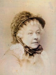 An 1883 photo of women's rights leader Elizabeth Cady