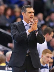 Villanova Wildcats head coach Jay Wright.