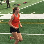 Lely's Poling wins pair of distance events at district meet