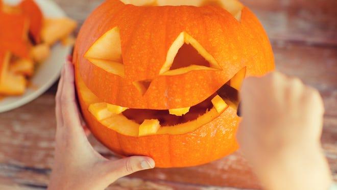 Pumpkin carving photo contest promo image