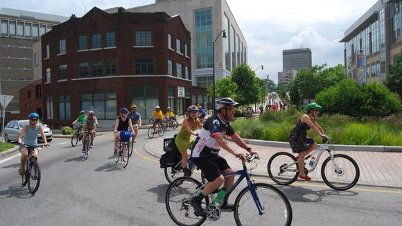 Asheville on Bikes hosts its Summer Cycle July 29 in the River Arts District.