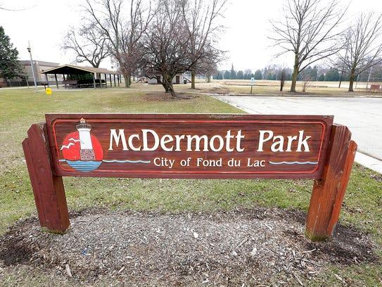 McDermott Park Friday, March 24, 2017 on Johnson Street