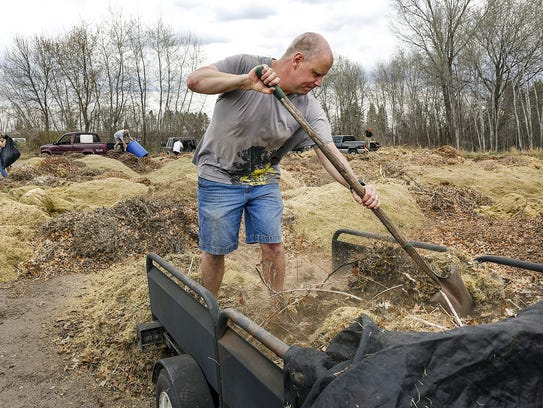 It's a sure sign of spring: City compost sites are