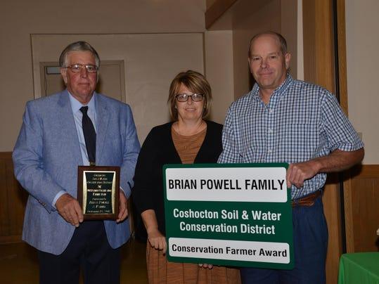 B. Powell Outstanding Farmer