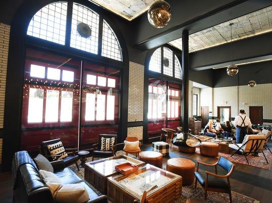 Look Inside New Detroit Firehouse Hotel