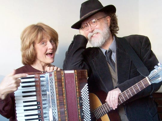 Lou and Peter Berryman will perform on Feb. 18, 2017 at the Lettie Jensen Community Center in Amherst as part of the Tomorrow River Concerts series.