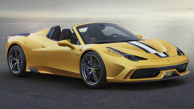 If you can'tt afford a Ferrari like this, you'll be able to afford the stock starting Jan. 4