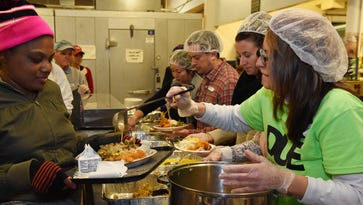 Eileen Hickey Thanksgiving Dinner mixes community, charity and food