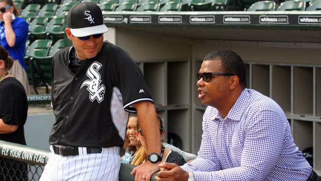 With White Sox manager Robin Ventura entering the final year of his contract, it was more realistic for executive VP Kenny Williams to navigate the tricky issue of players and staff perturbed by the constant presence of Adam LaRoche's son, Drake.