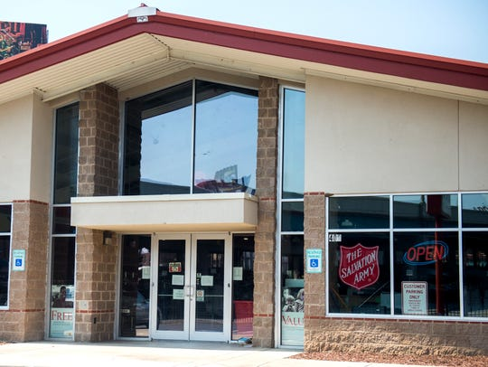 The Salvation Army Thrift Store located on North Broadway