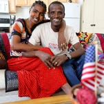 Workensh   Egoye and Argaw Oremo recently were reunited in the U.S.