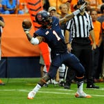 In this file photo, Ashton Broyld, a Rush-Henrietta graduate, throws a pass during the third quarter against Clemson at the Carrier Dome.