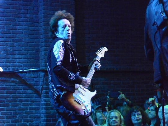 (NEWS)      01/12/17       ASbury Park, NJ Willie Nile and his band perform at The House Of Independance on Thursday night as part of The Light Of Day Concert series in Asbury Park. Frank Galipo/Correspondent  Presto ID96330112-17