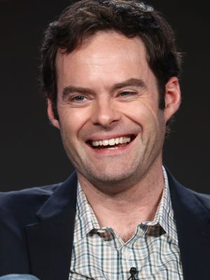 Bill Hader talks about his role as hitman/actor in HBO's 'Barry' at the Television Critics Association.
