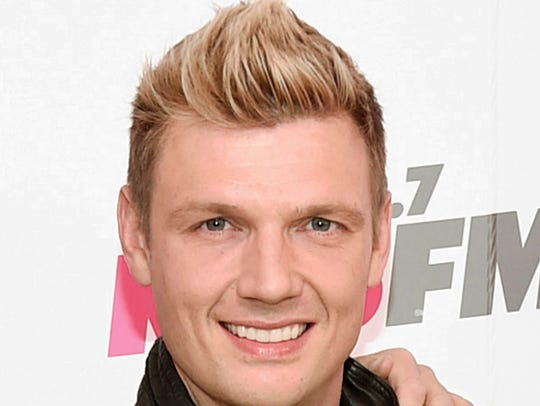 Nick Carter in May 2017.