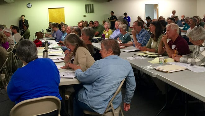 A pipeline summit by the Allegheny-Blue Ridge Alliance  drew a large crowd on Saturday. The alliance was founded in September of 2014 in opposition of the Atlantic Coast Pipeline.