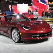 2017 Chevrolet Corvette Stingray convertible is a 'purist' model