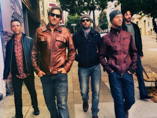 "Dishwalla will sing its hit ""Counting Blue Cars"" and"