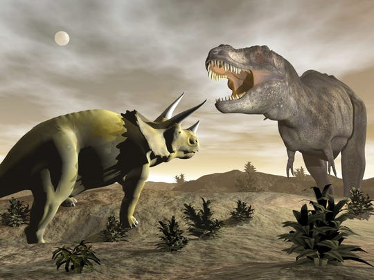 What killed the dinosaurs? An asteroid or volcanoes? Or both?